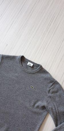 Lacoste Wool Devanlay Mens Size 5 - L/M ОРИГИНАЛ! Мъжки Вълнен Пуловер
