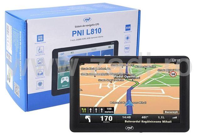 "•GPS TIR•PNI ecran 7""•garantie 2 ani•program full europa•HERE+TOMTOM"