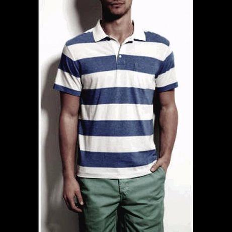 Tricou Lacoste Barbatesc Stripes - Masura XL