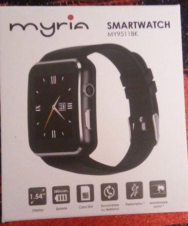 Smartwatch MYRIA MY9511 BK, negru