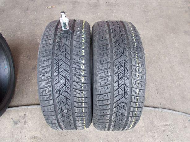 2 anvelope runflat iarna Pirelli 245 40 19 profil 7,5mm (dot 2019)