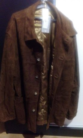 Мъжко сако от естествен велур
