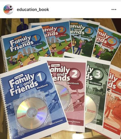 English file, New English File, Headway, Family and Friends