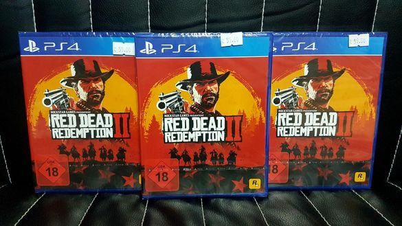 Чисто нова Red Dead Redemption 2 за PS4