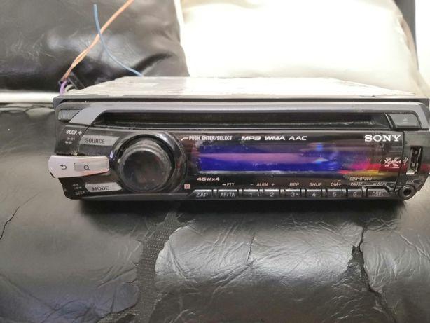 Mp3 auto Sony xplod CDX-GT35U. USB radio aux ieșire subwoofer CD