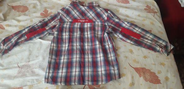Сет дънки и риза за момче