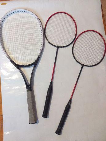 6 rachete de tenis: Head, Qiangli T8,2 MAXIMA+2 Badminton