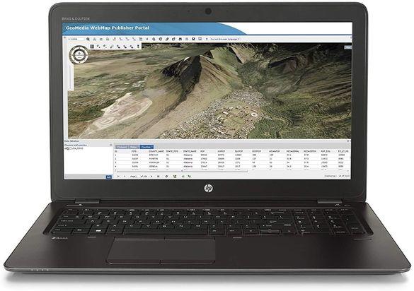 HP ZBook 15 G3, 32RAM, Intel i7 PRO 8 core, 512SSD+1TB, Quadro M2000M