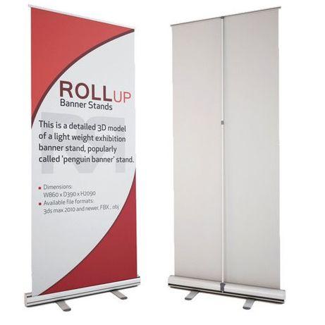Print autocolant, banner sau roll-up calitate indoor