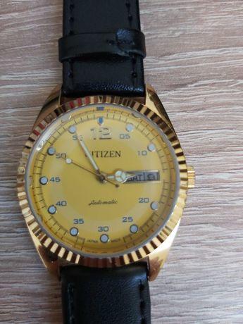 Vand ceas citizen mecanic placat cu aur 24 k '100RON REDUCERE