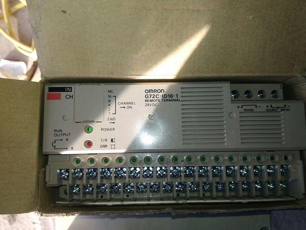 Omron remote terminal 24Vdc G72C