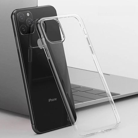 Husa Silicon iPhone 11, 11Pro, 11Pro Max, Transparenta