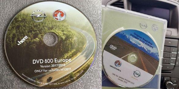 Опел DVD 800 navi CD 500 navi DVD 90 navi CD 70 navi диск навигация