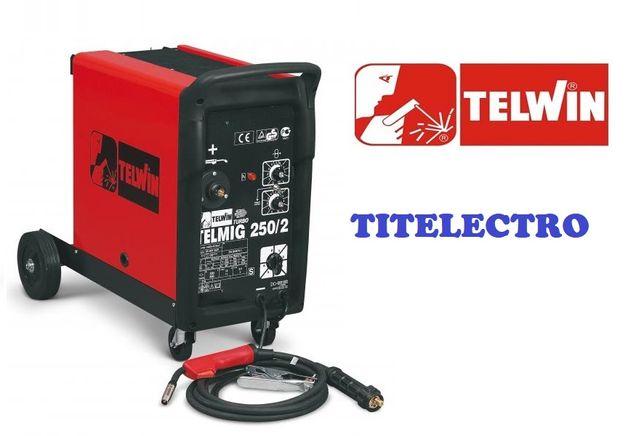 TELMIG 250/2 TURBO - Aparat de sudura cu sarma si gaz, MIG-MAG, TELWIN