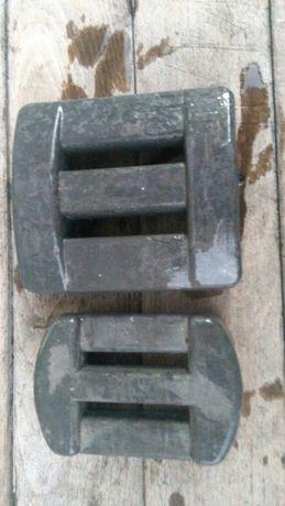 Водолазни тежести за колани и кокани