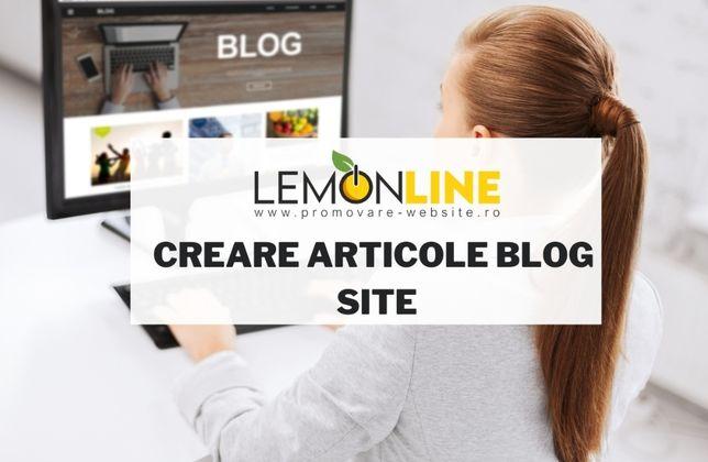 Creare articole Blog, articole Blog SEO - Bucuresti