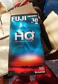 Casete Fuji HQ vhs