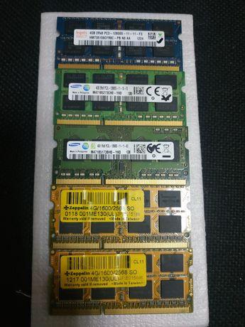 ОЗУ (Ram) для ноутбука (более 10шт) DDR3 PC3L so-dimm 1600MHz