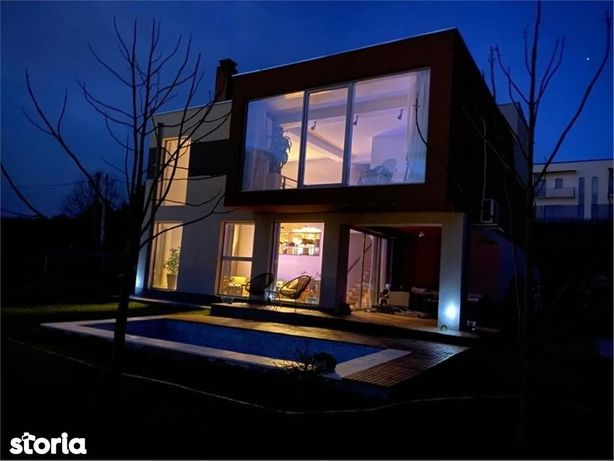 De vanzare,Casa Mediteraneana,150mp Utili+ 558mp Teren,Bucium