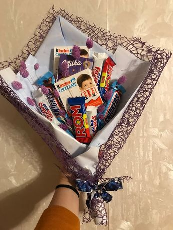 Buchet din dulciuri