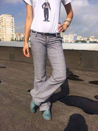 Сив панталон XS