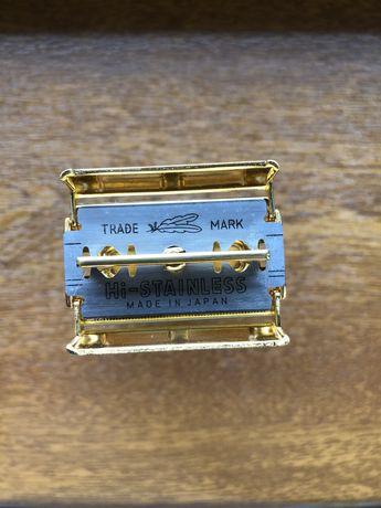 Gillette Fatboy Adjustable (Aparat ras clasic) Placat cu Aur