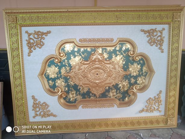 Декор потолок пластиковый