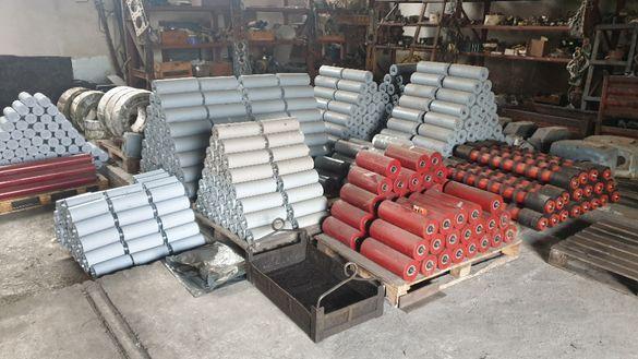 Части за биндер сита / Ролки за ГТЛ / гумено транспортни ленти / трЛ