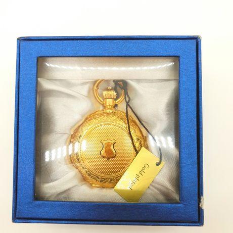 Ceas de buzunar placat cu aur