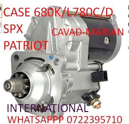 Electromotor CASE nou Cummins Spx3200 patriot3150 680K/L 780C/D
