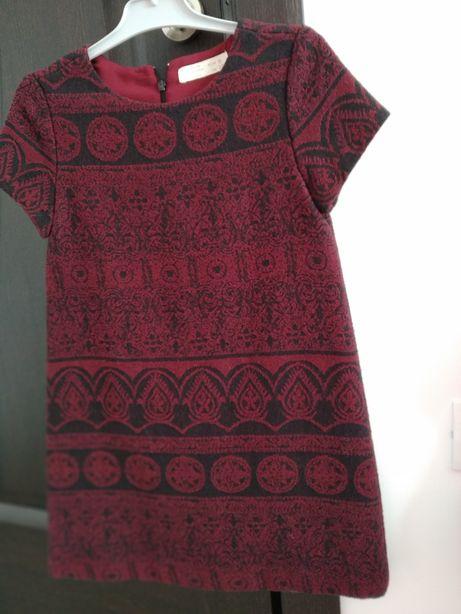 Rochie groasa de iarna marca Zara Nr 128 că noua