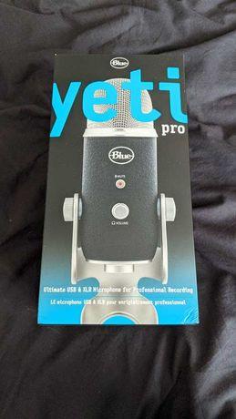 Микрофон Blue Yeti Pro Studio, черен - чисто нов, професионален!