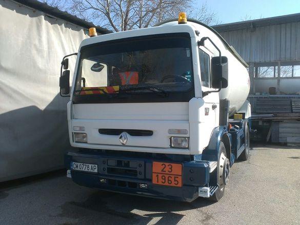 Цистерна за Газ - Камион