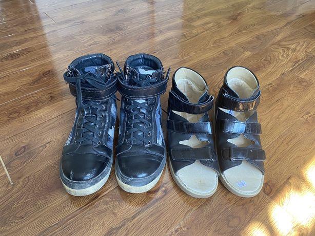 Ортопедическая обувь 39 размер в идеальном состояний для плоскостопия