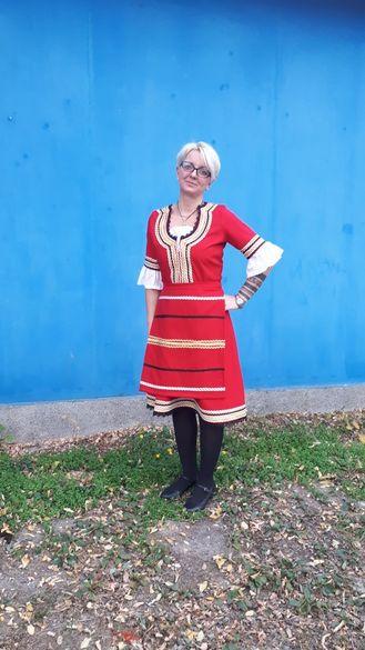 Македонска женска носия- якорудска
