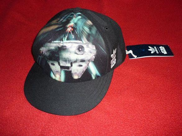 Нова оригинална шапка Star Wars - Adidas