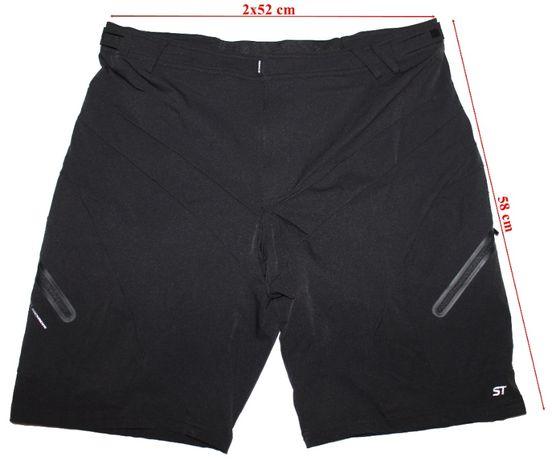 Pantaloni scurti Rockrider ST, Stretch, barbati, marimea XL