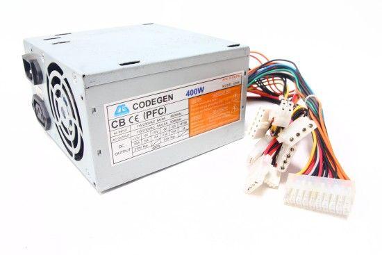 Codegen 200XA/300XA, 400Wt, Главный Разъем Питания 24 PIN(x1), ATX 12V