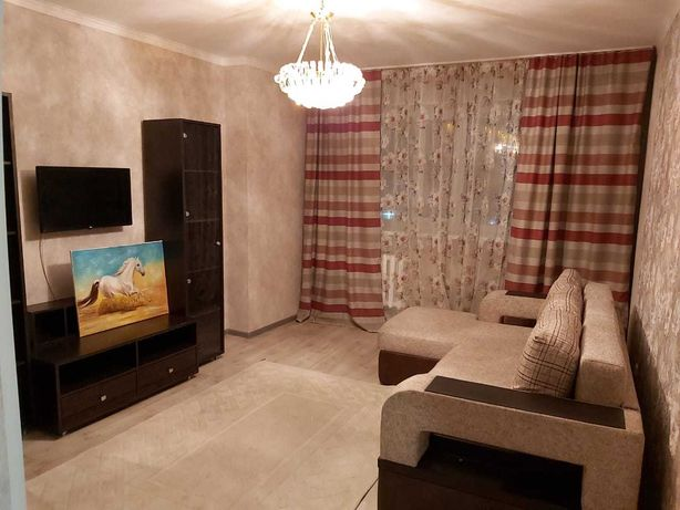 1-комнатная квартира в районе «Евразии», с ремонтом, мебелью/техникой