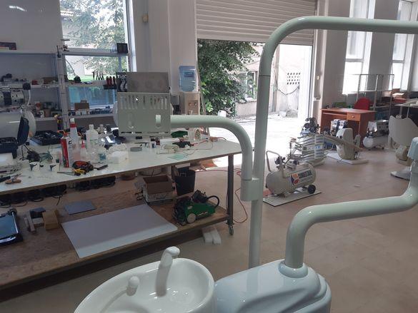Турски стоматологичен стол АДОНИС + НОВ КОМПРЕСОР И АСПИРАЦИЯ (ИТАЛИА)