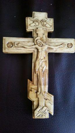Cruce pentru troita sculptata manual