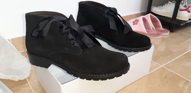 Bocanci Smiling Shoes noi in cutie 38