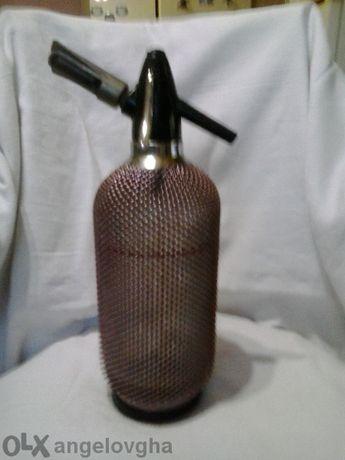 Бутилка за произвеждане на сметана на крем и газирана вода и други газ