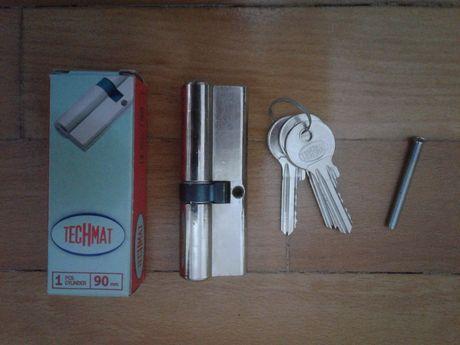 Cilindru yale, butuc yala Techmat 35x10x45 mm, NOU