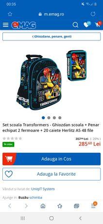 Ghiozdan Transformers +penar