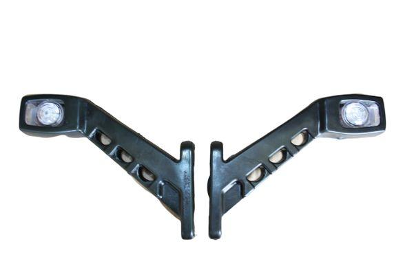 Комплект 2 броя ЛЕД LED рогчета за камион , ремарке и др. 12/24V