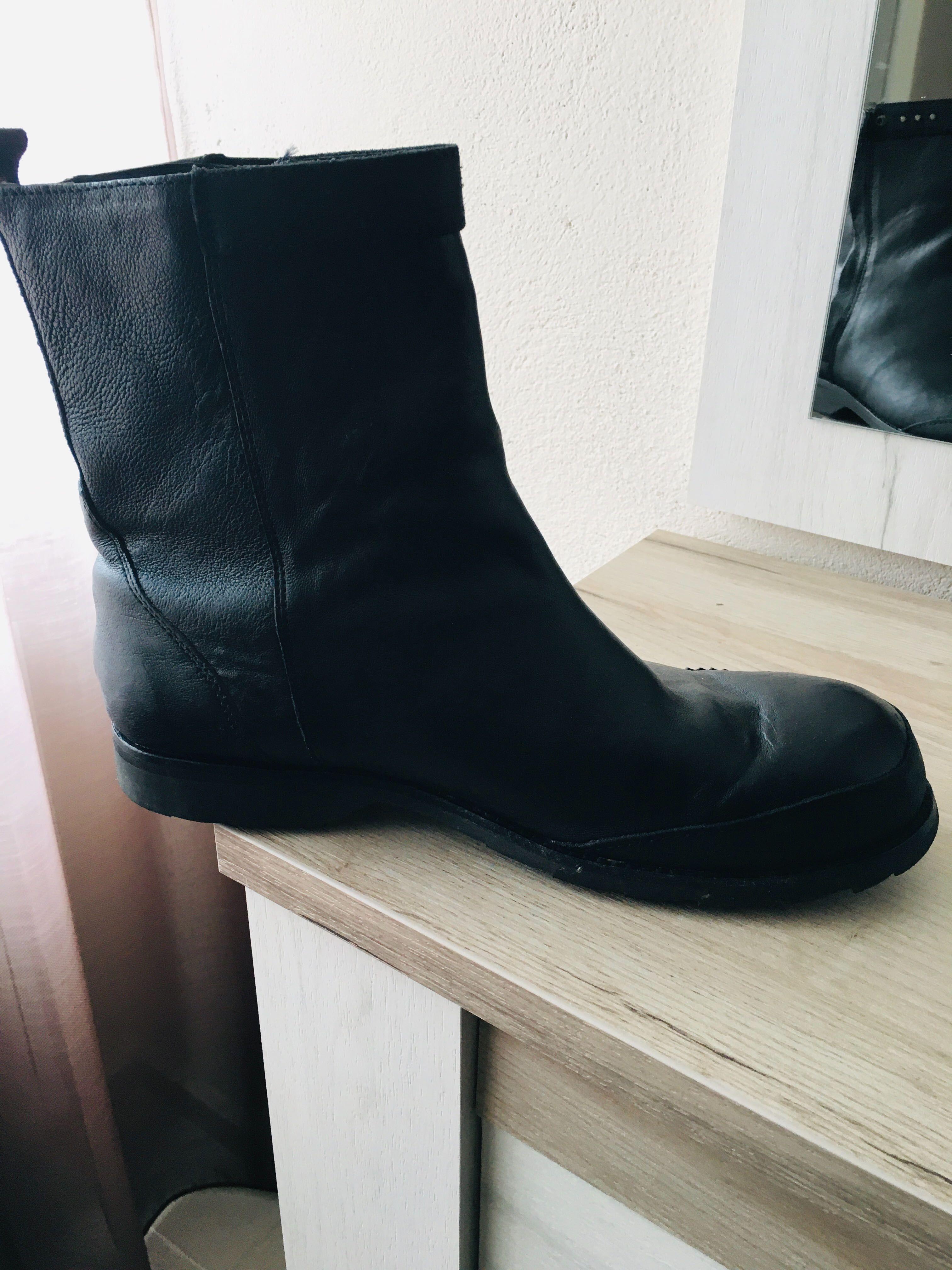 Зимни кожени обувки Diesel