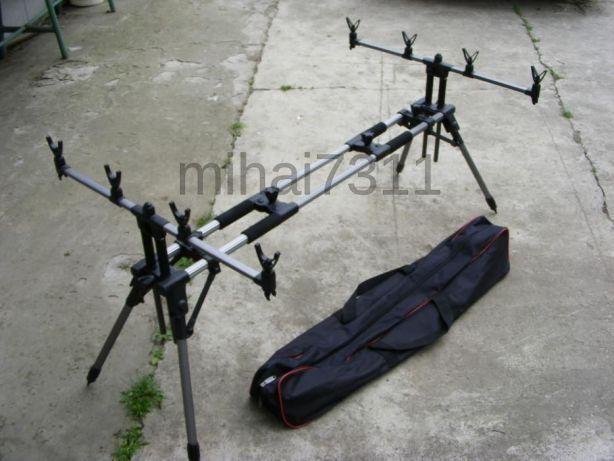 Rod pod - Rodpod Katiusha - Aluminiu 4 posturi identic Maver, CarpZ