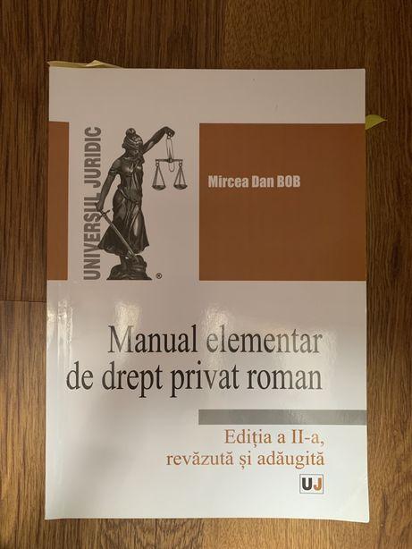 Vand Manual elementar de drept privat roman- anul I UBB Cluj