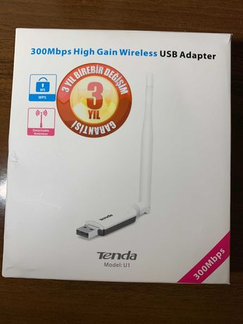 WiFi адаптер Tenda U-1 High Gain Wireless N